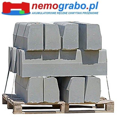 Chwytak próżniowy do krawężników, obrzeży i elementów betonowych