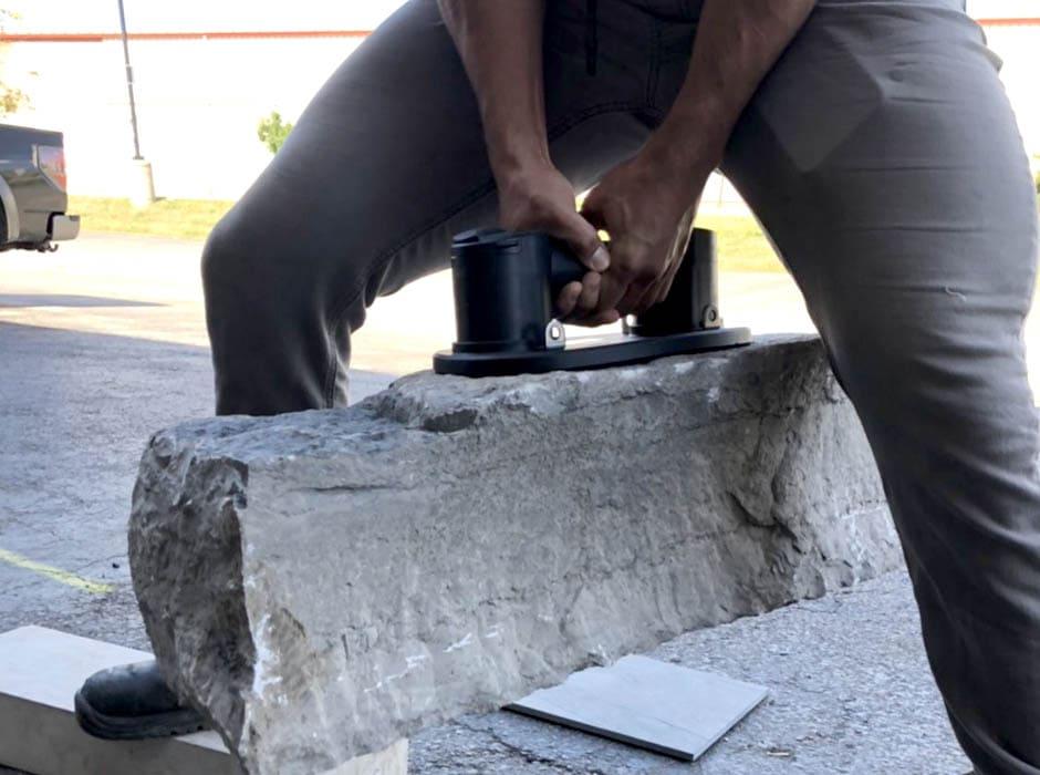 Chwytak prózniowy do kamienia dla branży kamieniarskiej