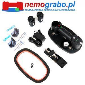 Chwytak próżniowy akumulatorowy Nebo Grabo Plus Wyposażenie